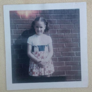Me May 1975 the year i accepted Jesus as Savior