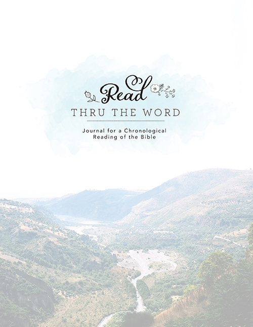 Read Through the Word Journal (Editable PDF)