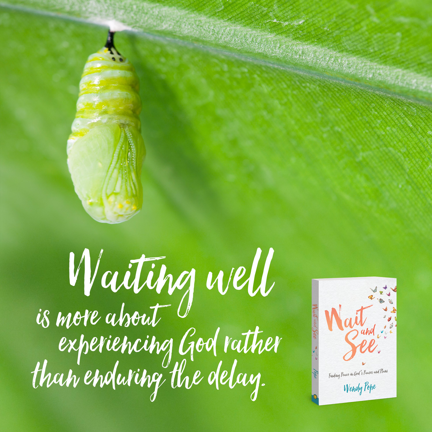 Waiting well is more about experiencing God rather than enduring the delay.