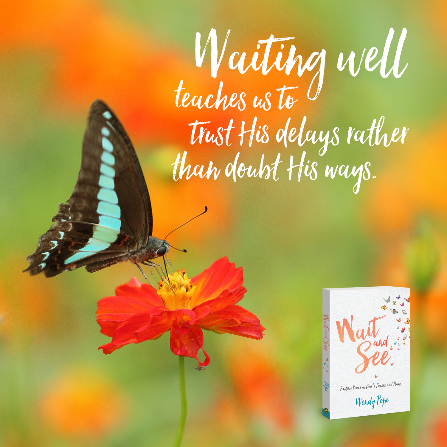 Waiting well teaches us to trust his delays rather than doubt his ways.