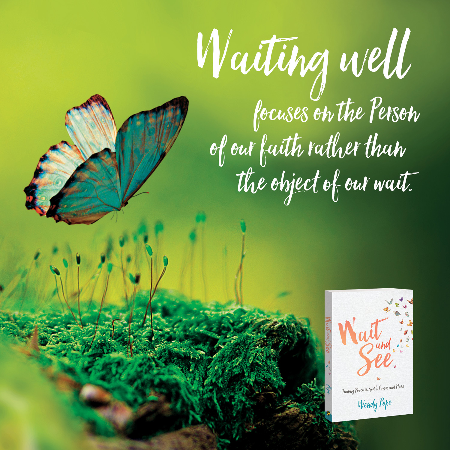Waiting well focuses on the Person of our Faith rather than the object of our wait.