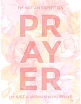 A Woman Who Prays (Downloadable Print)
